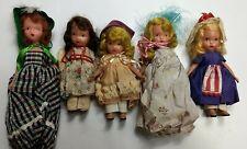 Asst. Lot Of 5 Vintage Storybook Nancy Ann Dolls #4