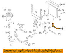 BMW OEM 07-10 X5 3.0L-L6 Radiator-Heater Hose 11537550062