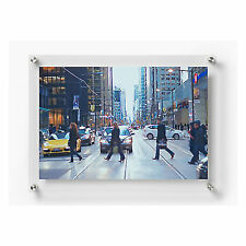 26e0d95f9a86 OpenBox Wexel Art 21x27-Inch Double Panel Clear Acrylic Floating Frame with  for