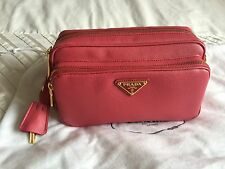 100% auth PRADA saffiano leather bag cross body (new)