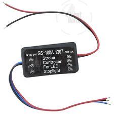 Flash Alert Controller Module 12-24 Volt Light Brake Strobe Light Relay