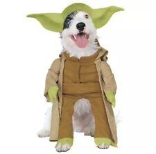 Star Wars YODA Halloween Dog Pet Costume Clothing Size Small