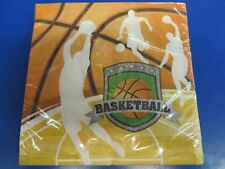 Team Sports Basketball Players Banquet Birthday Party Paper Luncheon Napkins