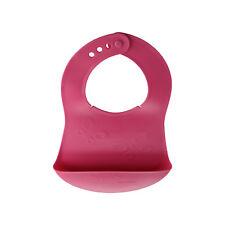 Bavaglio Bavaglia morbida gomma Impermeabile con Tasca Rosa Tescoma