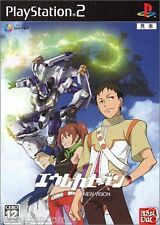 Used PS2 Eureka Seven New Vision SONY PLAYSTATION JAPAN IMPORT