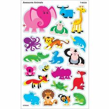 Awesome Animals superShapes Stickers – Large Trend Enterprises Inc. T-46328