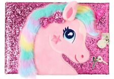 💞SMIGGLE Tactile Scented Lockable Notebook Diary Journal, 🦄 Pink Unicorn