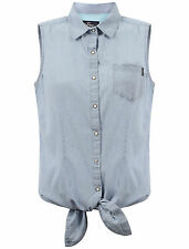 Checked Sleeveless Shirts for Women