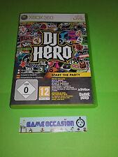 DJ HERO XBOX 360 COMPLET MICROSOFT PAL