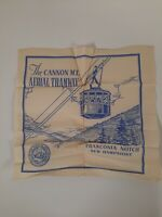FRANCONIA NOTCH NEW HAMPSHIRE MT CANNON Tramway 1940s VINTAGE PLACEMAT