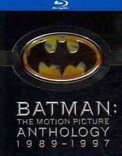 Batman Motion Picture Anthology 0883929031689 With Michael Keaton Blu-ray