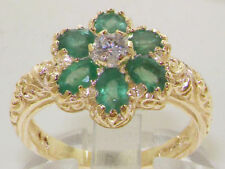 Emerald Natural Yellow Gold Fine Rings