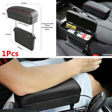 Universal Car Armrest Pad Auto Center Console Box Storage Box PU Leather Mat