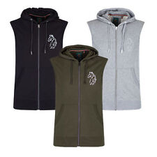 Hooded Sweats Sleeveless Sweatshirts for Men