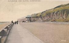 HUNSTANTON( Norfolk) :  Esplanade and Cliffs -WESTGATE