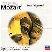Mozart: Don Giovanni (highlights), , Very Good Original recording remastered
