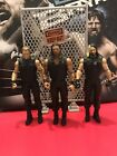 Wwe mattel Wrestling figure bundle Roman Reigns Seth Rollins Dean Amb The Shield
