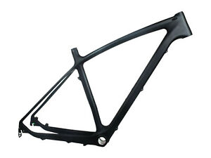 "Toray Carbon Matt 29er Mountain Bike Frame Bsa MTB Frame 18"" 142 *12 / 135mm"