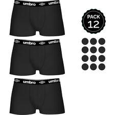 Set 12 Boxers Umbro negro