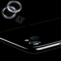 9H Hardness Back Camera Lens Tempered Glass CLEAR Film Protector For iPhone 7