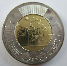 2016 CANADA TOONIE BATTLE OF THE ATLANTIC REMEMBERANCE DAY COIN