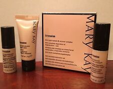 3 Pc Set Mary Kay Mini Night Restore & Recover Complex & Microdermabrasion Kit