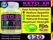 1X KETO XR Slim Fast KETO MCT OIL PURE COCONUT OIL SUPPLEMENT Best Price 120Caps