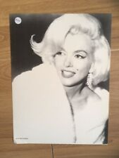 MARILYN MONROE 80s A3 print repro 1962 close up candid