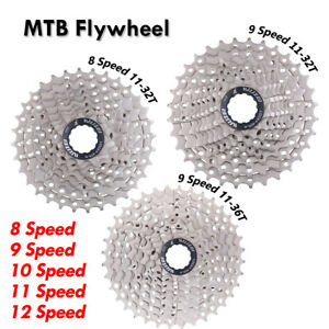 MTB Cassette Flywheel Freewheel 8/9/10/11/12 Speed Mountain Road Bike Cassette