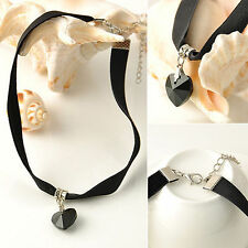 Collar Beauty Velvet Costume Necklaces & Pendants