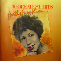 ARETHA FRANKLIN 30 Greatest Hits (1986) Remastered 30-track CD NEW/SEALED