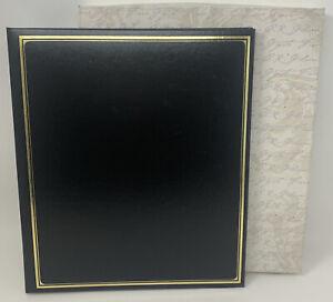 "C.R. Gibson Heritage Black Scrapbook S53C0 (Size 14-1/4x12-1/4"") Archival Grade"