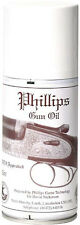 PHILLIPS GUN OIL 150ML AEROSOL SPRAY, LUBRICATES ANTI CORROSION NATO APPROVED