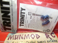 Adjustable Body Mounts TR130023 Trinity 5MM 2Pcs Blue