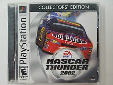 NASCAR Thunder 2002 - Collector's Edition (Sony PlayStation 1, 2001)