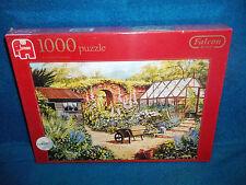 Country Garden-Falcon De Luxe-Puzzle 1000 pezzi-NUOVO e SIGILLATO-RARO