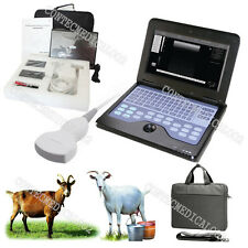 CE Veterinary Ultrasound scanner Laptop machine+3.5Mhz Convex For Goat/sheep/Pig