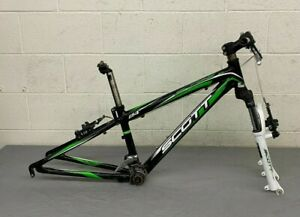 "Scott Scale Jr. Youth Aluminum Mountain Bike Frame for 24"" Wheel w/RST Shock++"
