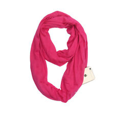 Newly Women Winter Convertible Infinity Scarf With Pocket Loop Zipper Pocket Lot