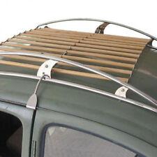 NEU VW Käfer Dachträger Dachgepäckträger Edelstahl Holz Vintage Speed