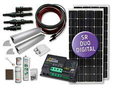 210 Watt Wohnmobil Solaranlage KOMFORT - SR Duo Digital - Wohnmobil-Boot