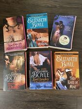 Elizabeth Boyle Book Lot Of Six Good To Very Good