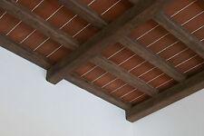 Pannelli Soffitto effetto legno / cotto 120x84 cm isolante termico acustico
