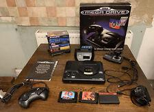 Sega Mega Drive Konsole OVP 10 Spiele Master System Converter und Joystick