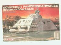 1/35 Dragon Schwerer Panzerspahwagen Kommandowagen Plastic Scale Model Kit NOS