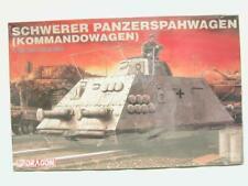 1/35 Dragon Schwerer Panzerspahwagen Kommandowagen Plastic Scale Model Kit NOS