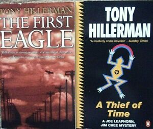 Two Tony Hillerman crime thrillers