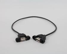 Usb to Usb adapter female/female coupling converter USB cable AF/AF &screws o