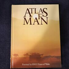 ATLAS OF MAN 1985 Hardcover forward by HRH Prince Charles cultural historical