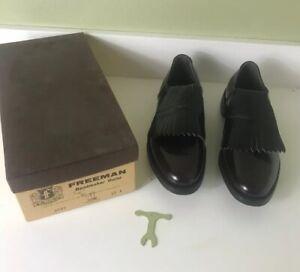VTG BOOTMAKER GUILD BY FREEMAN Men's Golf Shoe Size 10A RARE EXCELLENT CONDITION
